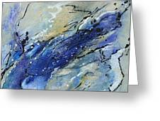 Wave - Abstract Art Greeting Card