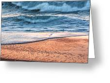 Wave After Wave Greeting Card
