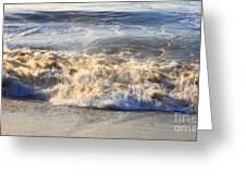 Wave Art 4 Greeting Card