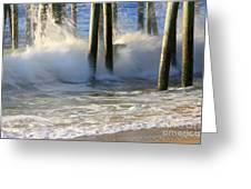 Wave Art 9 Greeting Card