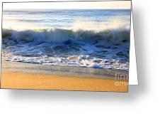 Wave Art Series 3 Greeting Card