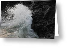 Wave Crash Greeting Card