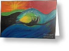 Wave Greeting Card