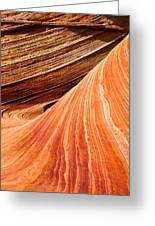 Wave Lines Greeting Card