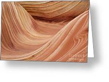 Wave Rock 3 At Coyote Buttes Greeting Card