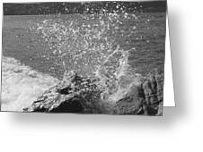 Wave Spray Greeting Card
