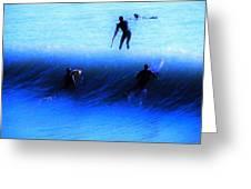 Wave Walker Greeting Card