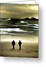 Wave Watchers Greeting Card
