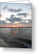 Waves And Sky Greeting Card