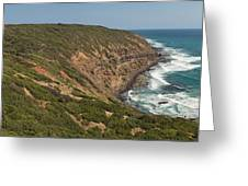 Waves At Cape Schank Greeting Card