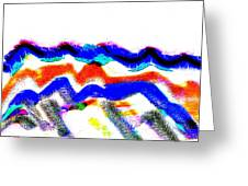 Waves From Heaven Greeting Card