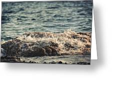 Waves In Time IIi Greeting Card
