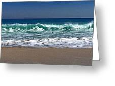 Waves Of Happiness  Greeting Card