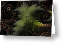 Waves Of Resonance Greeting Card