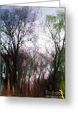 Wavy Willows Greeting Card