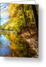 Waxen Autumn 3  Greeting Card