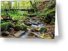 Way Of St. James Bridge Greeting Card by Jeffrey Teeselink