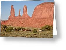 Wayne Monument Greeting Card