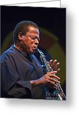 Wayne Shorter Plays Greeting Card by Craig Lovell