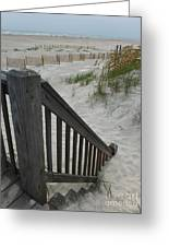 Ways To The Beach Series 4 Greeting Card