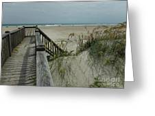 Ways To The Beach Series 5 Greeting Card