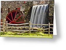 Wayside Grist Mill 4 Greeting Card
