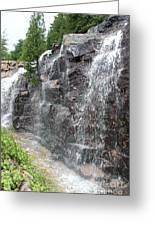 Wayside Waterfall - Acadia Np Greeting Card