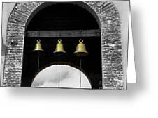 We Three Bells Greeting Card