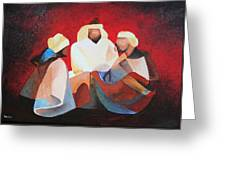 We Three Kings Greeting Card