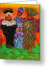 We Women Folk Greeting Card