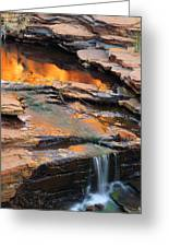Weano Gorge - Karijini Np 2am-111671 Greeting Card