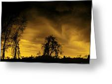 Weather Warning Greeting Card