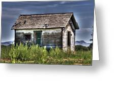 Weathered And Worn Well  Greeting Card by Saija  Lehtonen