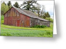 Weathered Barn 2 Greeting Card