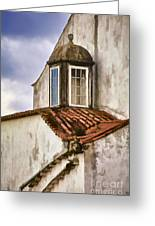 Weathered Building Of Medieval Europe Greeting Card
