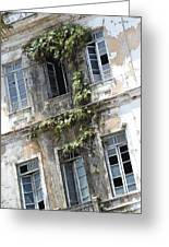 Weathered Building Greeting Card