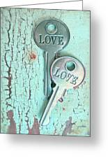 Weathered Love Greeting Card