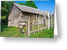 Weathered Old Country Barn Greeting Card
