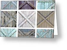 Weathered Paint Greeting Card