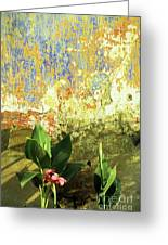 Weathered Wall 01 Greeting Card