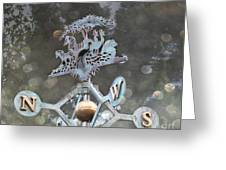 Weathervane Greeting Card