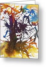 Web Of Life Greeting Card