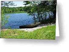 Weber Lake Greeting Card