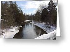 Webster Bridge Greeting Card