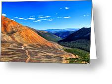 Webster Pass Colorado Greeting Card