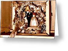 Wedding Bell Blues Greeting Card
