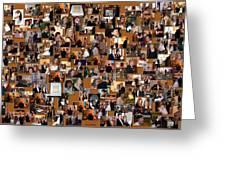 Wedding Collage Greeting Card