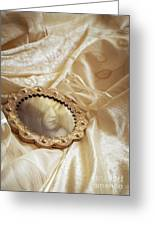 Wedding Dress And Mirror Greeting Card
