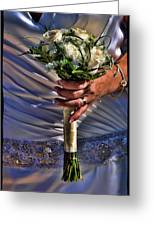 Wedding Flowers Greeting Card