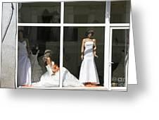 Wedding Shop In Tbilisi Greeting Card